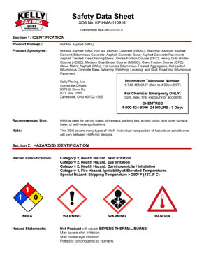 KP-HMA-110916 Hot Mix Asphalt